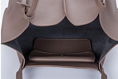Mujer hombro Bolsos mano de Shoppers Carteras clutches de Gyöngyfehér y y bolsos bandolera 114rq