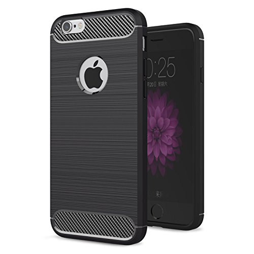 Funda iPhone 6S / iPhone 6,ivencase Carcasa Silicona TPU de Alta Resistencia y Flexibilidad Protección Shock- Absorción...