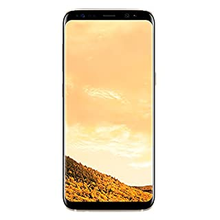 Samsung Galaxy S8 G950F 64GB Unlocked GSM Phone w/ 12MP Camera - Maple Gold (Renewed)