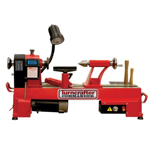 PSI Woodworking TCLC10VS Commander 10-Inch Variable Speed Midi Lathe by PSI Woodworking