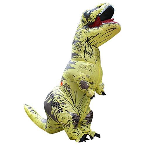 Dimensione Alta Giallo 2 2 Dinosauro M Parco La Saomai In Mascotte T rex Di Festa Festival Gonfiabile Adulta Per Costume qaZ4wfnO