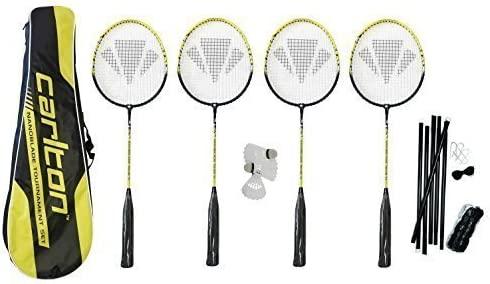 Carlton Nanoblade Tour Premium 4 Player Badminton Set RRP £90