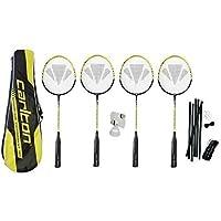 Carlton Raquettes de Badminton Lot x4 + 3 Volants