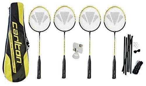Carlton Nanoblade Tour Premium 4 Player Badminton Set Original RP £100