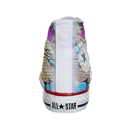 Converse Street artisanal Chaussures Customized Coutume produit Girl nrnfaA