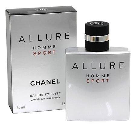 C H A N E L ALLURE HOMME SPORT EDT SPRAY 1.7 oz. / 50 ml. -