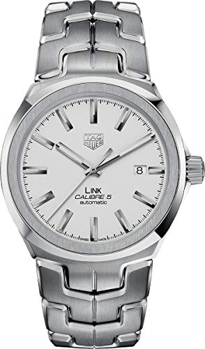 (Tag Heuer Link Silver Dial Men's Watch WBC2111.BA0603)