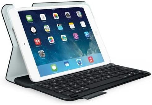 Logitech Ultrathin Keyboard Folio - Funda para Tablet Apple iPad Mini, Negro - Teclado QWERTY Español