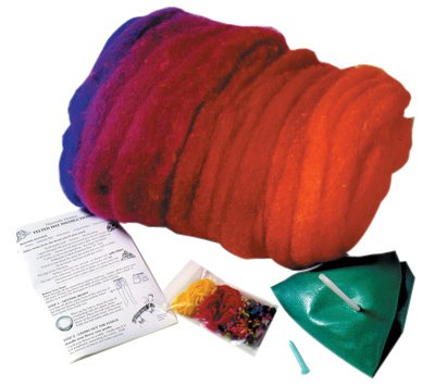Felted Hat Kit by Harrisville Designs (Crochet Felted Hat)