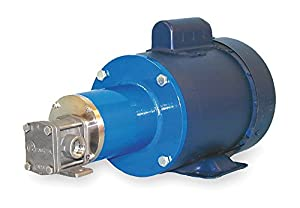 Oberdorfer Pumps - RM10216CWM1-F50 - Rotary Gear Pump, 110 psi, 316 Stainless Steel, 1/3 HP, 1 Phase