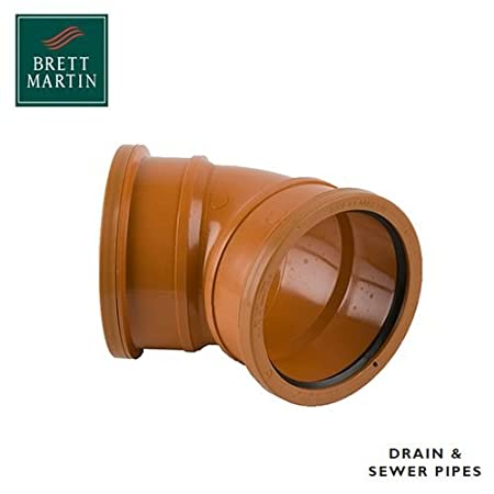 NEXT DAY DELIVERY 20 x Underground Drainage Double Socket 90 Degree Bends 110mm