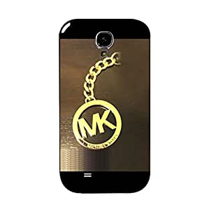 Luxury Pattern Cover Case Michael Kors Logo Phone Case for Samsung Galaxy S4 I9500 Special Predent Michael Kors Logo Mk Design Cover