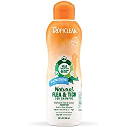 Tropiclean Natural Flea and Tick Shampoo for Pets
