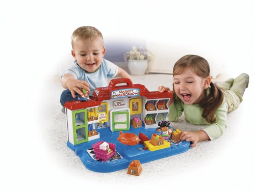 Fisher Price Little People Shop 'N Learn Market by Fisher-Price (Image #2)