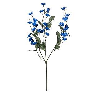 Darice Bulk Buy DIY Crafts Double Gypsophila/Baby's Breath Spray Royal Blue (12-Pack) DS-104-78 48