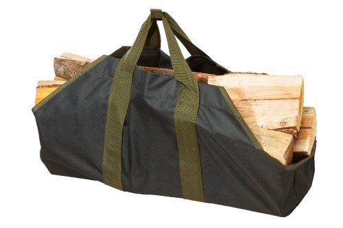 SC Lifestyle Heavy Duty Canvas Firewood Log Tote