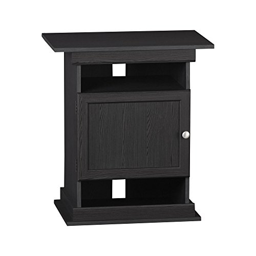 Altra Furniture Altra Flipper 10/20 gallon Aquarium Stand, Midnight Onyx