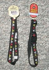Disney Mickey Mouse Adjustable Collar Medium Black
