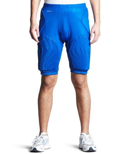 Azul Pantalones Adidas Cortos Cortos Padded Pantalones Adidas Padded Zw0q0