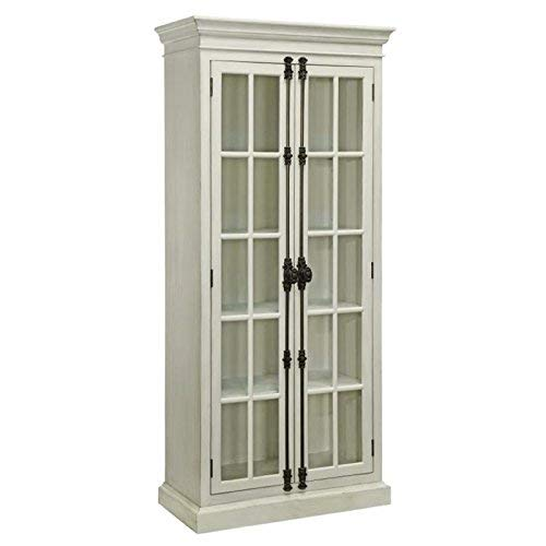 Glass Door Solid Wood - Coaster 910187-CO Company Of America Brookhaven Curio Cabinet, Curio Cabinet