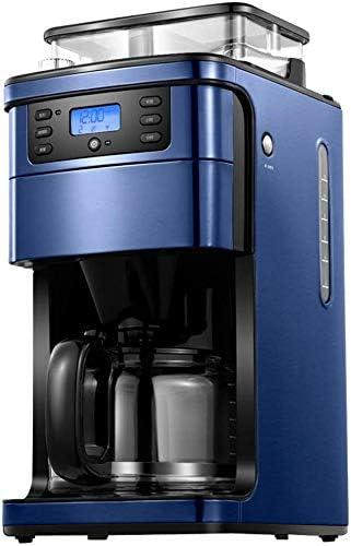 Cafetera, completamente automática Máquina de café Wi-Fi de control remoto de alta capacidad Tres velocidad de ajuste de 1,5 litros temporizador anti- goteo Sistema reutilizable Filtro Permanente jsmhh: Amazon.es: Hogar