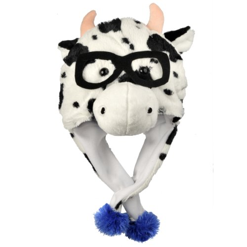 [MLB Chicago Cubs Thematic Mascot Dangle Hat] (Cubs Fan Costume)