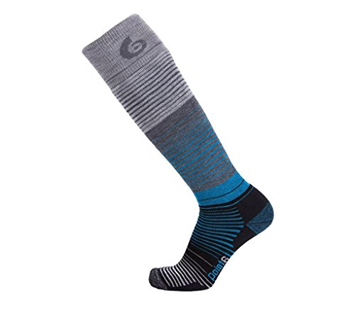 - point6 Ski Blend Medium OTC Ski Socks, Stone, Large