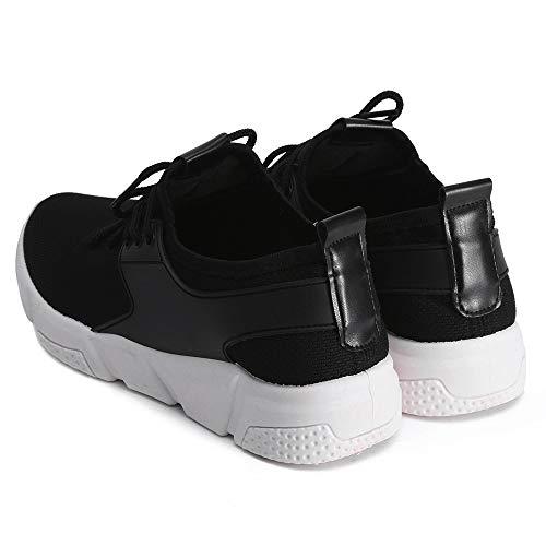 Baskets Respirant Unie Gris 39 Courir Chaussures Rouge de Couleur Noir 36 Sport 5 GongzhuMM de Noir de Mesh Femmes EU Sport Loisirs Sneakers 86qPFxwp6