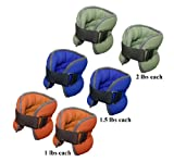 Da Vinci Adjustable Ankle or Wrist Weights, Sold in Pairs, You will Receive 2 Ankle Weights with...