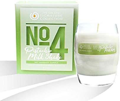 The Oil Bar No. 4 Pistachio Milkshake Soy Massage Candle