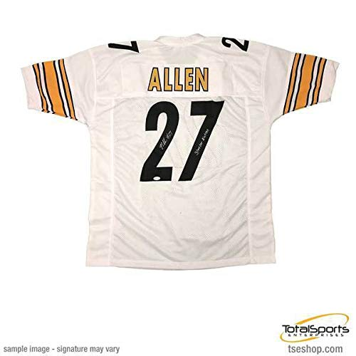 1f919718102 Total Sports Enterprises Marcus Allen Signed Custom White Football Jersey  with Steeler Nation