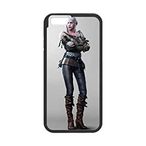 iPhone 6 Plus 5.5 Inch Cell Phone Case Black The Witcher 3 Wild Hunt review Ciri 005 Nnfby
