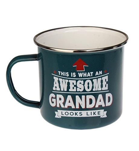 Enamel Personalised Mug (Grandad)