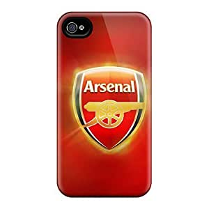 Case Cover For SamSung Galaxy S4 Mini Hard Back With Bumper Iphone 5/5S Arsenal