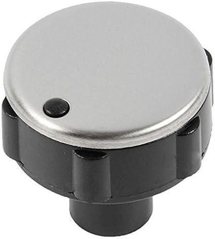 Genuine Zanussi Oven Black Temperature Control Knob
