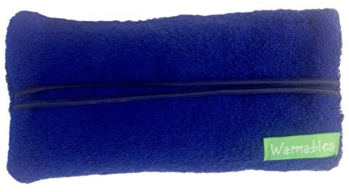 Microwave Heat Pillow - Warmables Eye Pillow Natural Heat Pack, Royal
