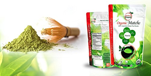 US Whole Food Premium Japanese Matcha Green Tea Powder,4 Ounce,100% USDA Organic