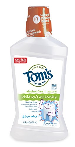 - Tom's of Maine Children's Anticavity Fluoride Rinse, Juicy Mint, 16 Ounce