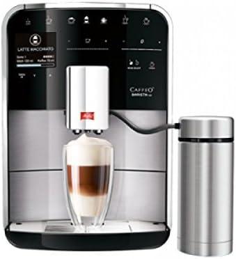 Melitta Caffeo Barista TSP Independiente Máquina espresso 1,8 L - Cafetera (Independiente, Máquina espresso, 1,8 L, 1450 W, Negro, Acero inoxidable): Amazon.es: Hogar