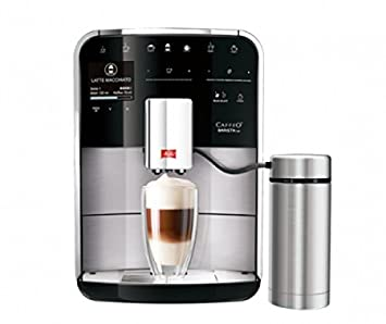 Melitta Caffeo Barista TSP Independiente Máquina espresso 1.8L Negro, Acero inoxidable - Cafetera (