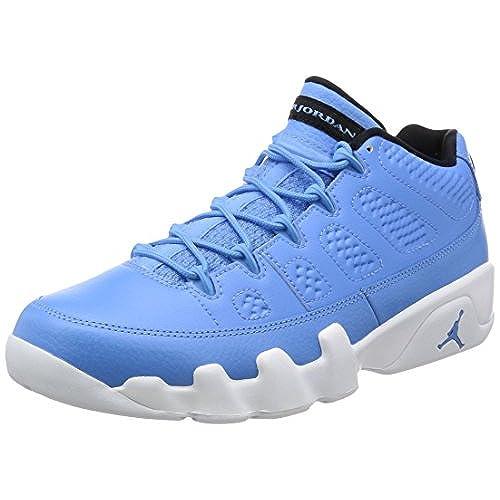 the latest b01cf 935fd ... sale nike mens air jordan 9 retro low pantone university blue white  leather size 10.5 a4bf7