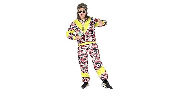 Foxxeo Traje de chándal de los 80 para Hombres para Carnaval y ...