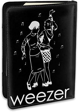 weezerウィーザー パスポートケース メンズ レディース パスポートカバー パスポートバッグ ポーチ 6.5インチ PUレザー スキミング防止 安全な海外旅行用 収納ポケット 名刺 クレジットカード 航空券