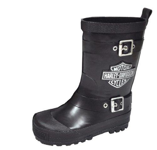 Boys Biker Boots - 6