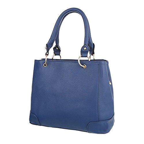 Schuhcity24 Taschen Handtasche Blau