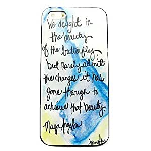 LCJ Verse Phrase Pattern Hard Case for iPhone 4/4S by icecream design