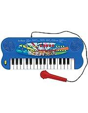 Paw Patrol Elektronisch Keyboard, Piano met 32 toetsen, Microfoon voor zingen, 22 Demo-songs, Op batterijen werkt, blauw /rood, K703PA
