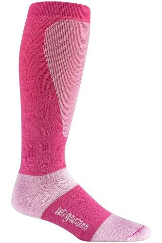 Wigwam Men's Snow Sirocco Socks -Carmine rose