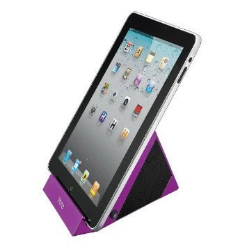 iHome iDM3SC Universal iPod/iPhone/iPad Speaker Dock (Purple) (Universal Speaker Dock)