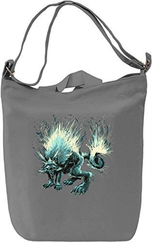 Fantasy wolf Borsa Giornaliera Canvas Canvas Day Bag| 100% Premium Cotton Canvas| DTG Printing|